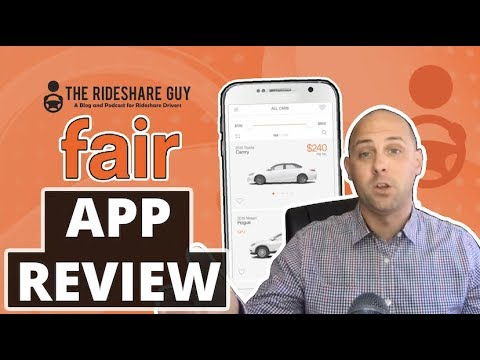 Fair App Review - For Uber & Lyft Drivers (How does Fair app work?)