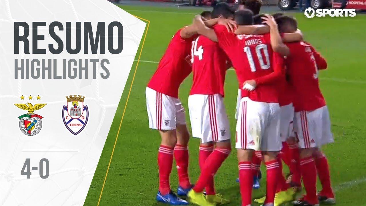 Resumo Benfica: Resumo: Benfica 4-0 Feirense (Liga 18/19 #11
