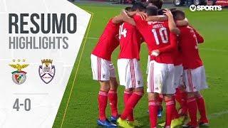 Highlights | Resumo: Benfica 4-0 Feirense (Liga 18/19 #11