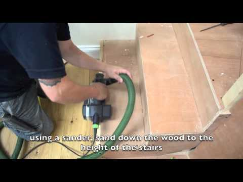 How To The First Bend On Site Curved Stair Nosing Fr