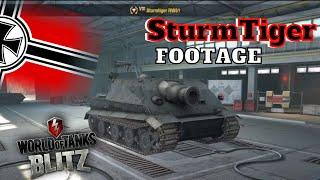 World Of Tanks Blitz - SturmTiger RW61 Leaked!!