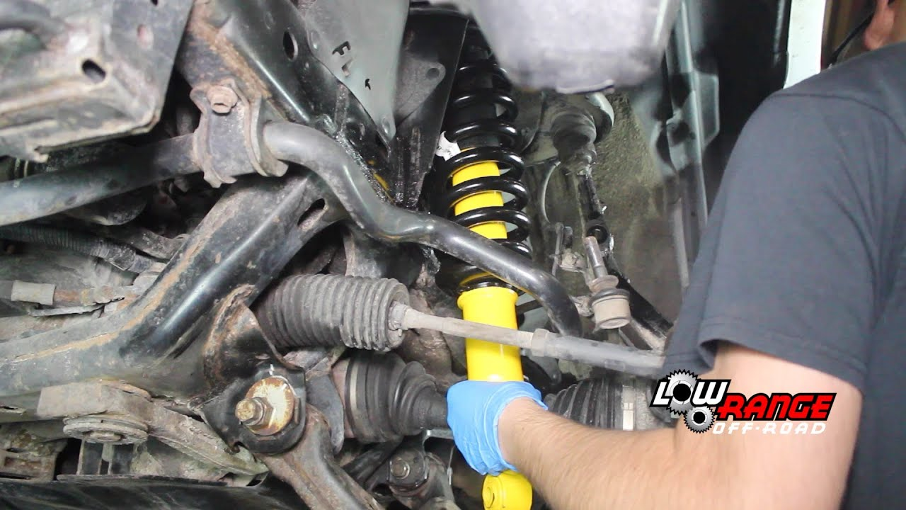 How To Install Ome 90000 Nitrocharger Shocks On 2003 2016