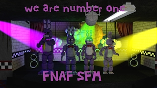 SFM FNAF we are number one But it has all of the bonnie models