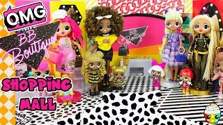 LOL OMG Fashion Dolls BB Boutique Shopping Mall New Outfits For Big Sisters
