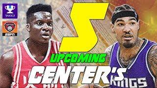 5 Breakout Center's/Big Men! Fantasy Basketball NBA 2017/2018