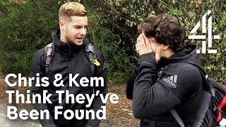 Love Island's Chris & Kem's RISKY Tesco Trip! | Celebrity Hunted