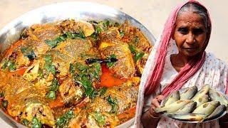 Thankuni Leaf & Koi Fish Recipe | Indian Village Cooking | Traditional Food