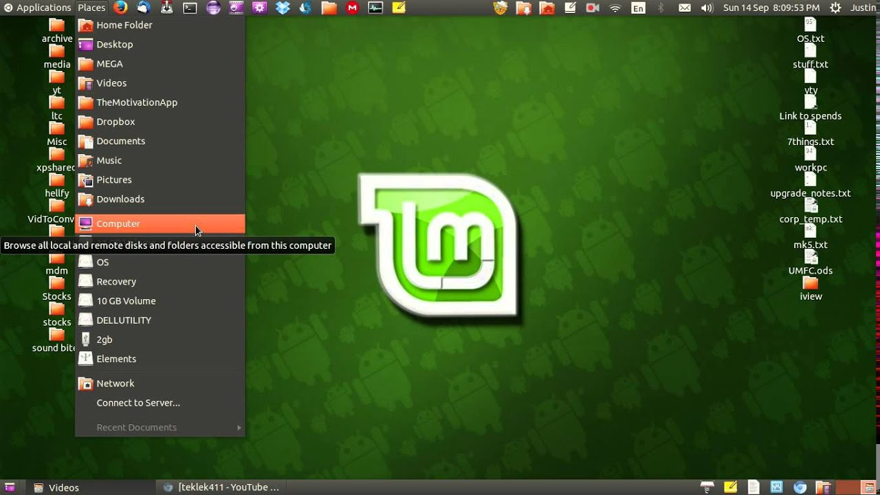 Linux mint on usb – Vi bor i samme hus!
