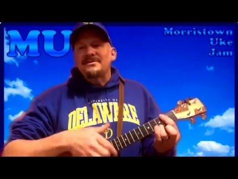 MUJ: Blue Bayou - Roy Orbison (ukulele tutorial)