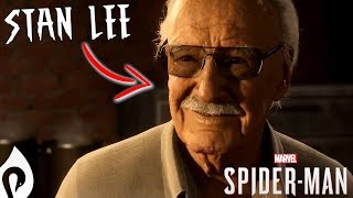 Spider-Man (PS4) - Stan Lee Cameo/ Easter Egg!