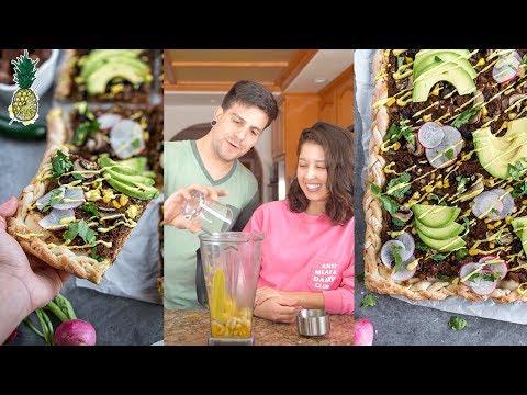Jackfruit Mole Pizza   Vegan Chopped Challenge