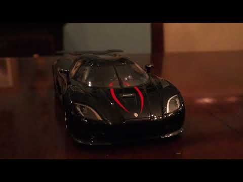 Koenigsegg Agera R 1/18 Scale Model by Frontiart Quick Review!