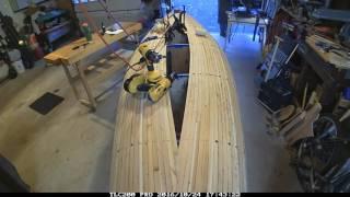 Building a Cedar Strip Canoe: Timelapse