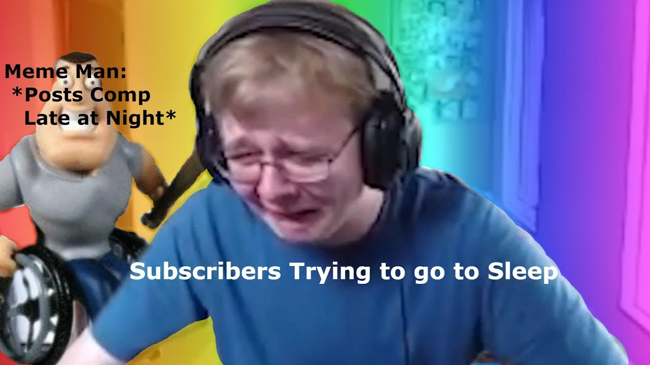 Callmecarson Crying Meme Compilation Youtube
