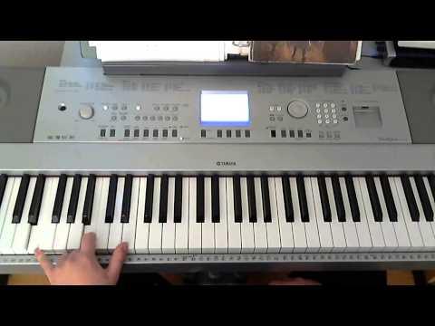 *TUTORIAL* Fairy Tail - Main Theme (Piano version) - Piano