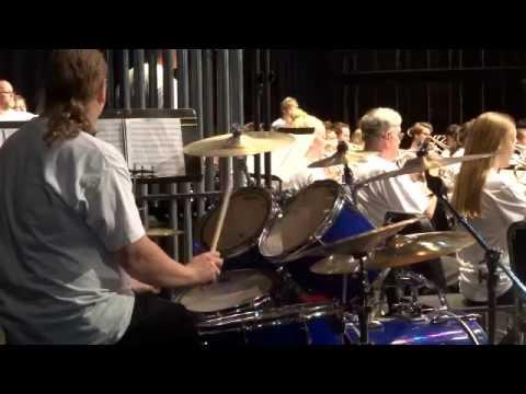 Menomonee Falls, WI community band Any Way You Want It, Flight of Pegasus, The 80s medly