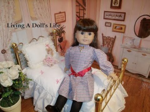 *Opening* American Girl Doll Samantha's Brass Bed