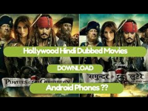 How download a Hollywood Hindi dubbed movie in android