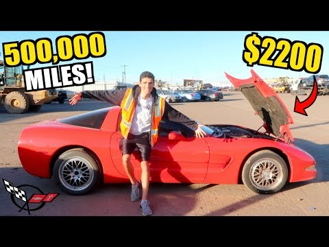 I Bought A 528,000 Mile C5 Corvette For $2200 At Auction SIGHT UNSEEN!