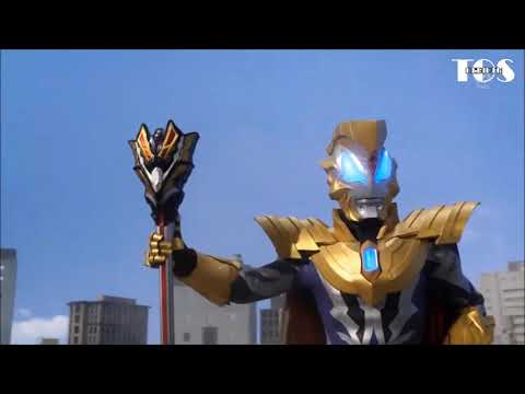 Ultraman Geed Royal Megamaster's King Sword With King Capsule All Finishers