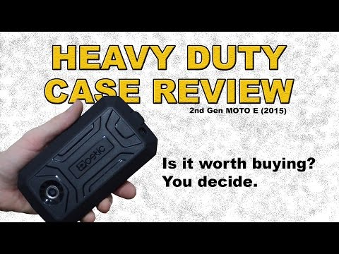 MOTO E 2nd gen Poetic Heavy Duty Case Review