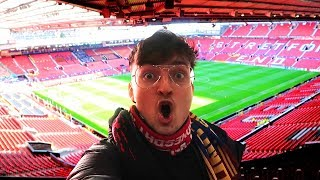 Manchester United - FC Barcelona | Champions League Stadionvlog im Old Trafford | ViscaBarca