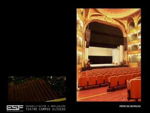 Rehabilitaci n y ampliaci n del teatro campos el seos en bilbao youtube - Teatro campos elisios ...