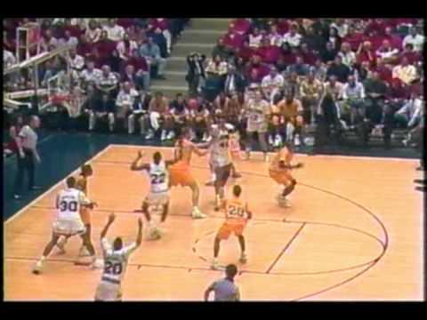 1991 1992 Arizona Basketball Vs LSU