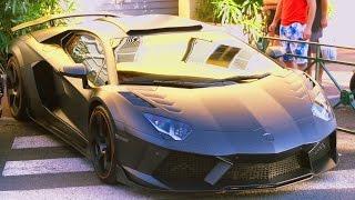 Timati's Lamborghini Aventador LP1600-4 Mansory Carbonado GT St Tropez 2014