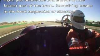 Cobra Crash Willow Springs, Short version 130 mph