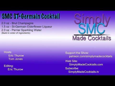 SMC St Germain Cocktail
