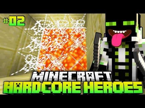 KANN man DAS ÜBERLEBEN?! - Minecraft Hardcore Heroes 3 - #02 [Deutsch/HD]