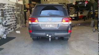 Toyota Landcruiser 200 series with redback extreme exhaust