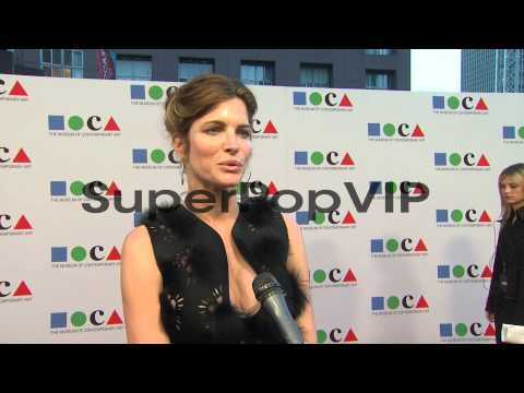 INTERVIEW - Stephanie Seymour on why she wanted to suppor...