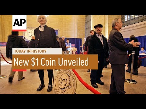 U.S. Mint Unveils New $1 Coin - 2007 | Today In History | 15 Feb 18