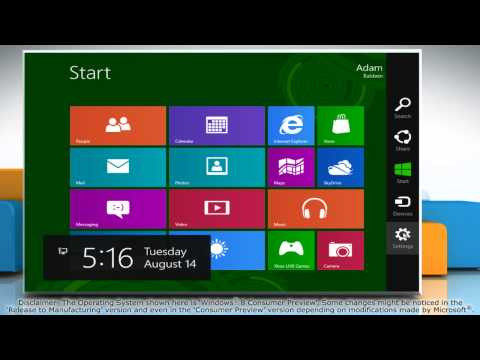 How to Refresh Windows® 8 to Reset it without Losing Data