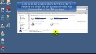Java 7 Tutorial - Installation JDK 1.7.0_40