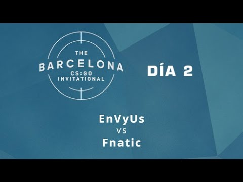 EnVyUs vs Fnatic [Train] - Día 2 - ESL Expo Barcelona CS:GO Invitational - Español