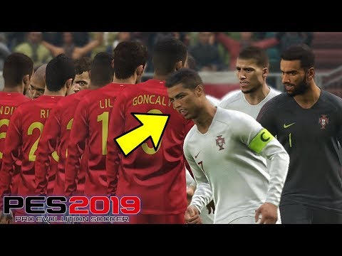 INDONESIA DIBANTAI RONALDO!!! - TIMNAS WORLD TOUR #2 (PES 2019 INDONESIA)