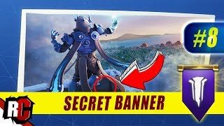 Fortnite | WEEK 8 Secret Banner Location (Season 7 Week 8 Loading Screen / Snowfall Skin)