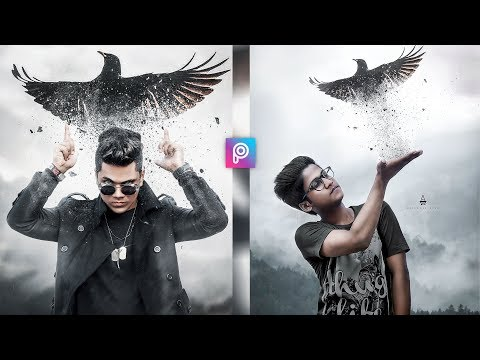 PicsArt 3D Flying Eagle Attitude Boy Photo Editing Tutorial in Picsart Step by Step in Hindi thumbnail
