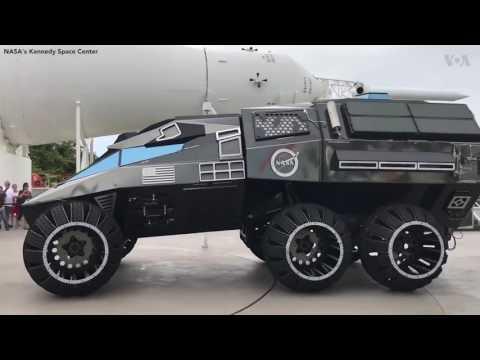 NASA unveils 2020 Mars rover concept