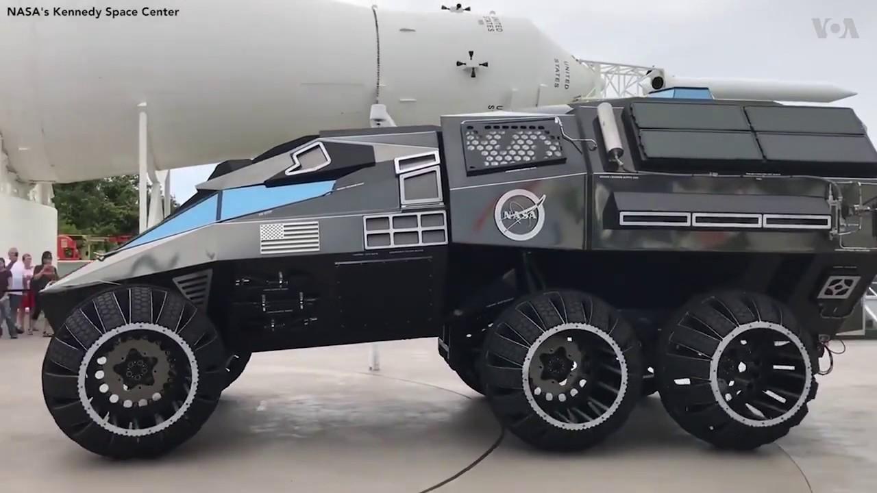 NASA unveils 2020 Mars rover concept - YouTube