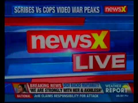 Cops lathicharge JNU students; journalists confront cops at Delhi Police HQ