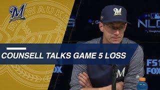 NLCS Gm5: Councell on offense, Woodruff in loss