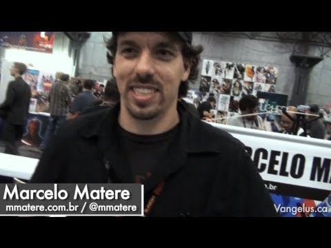 NYCC 2011 - Artists Alley (with Marcelo Matere - Transformers, IDW, Fun Publications, TMNT) - Oct 15