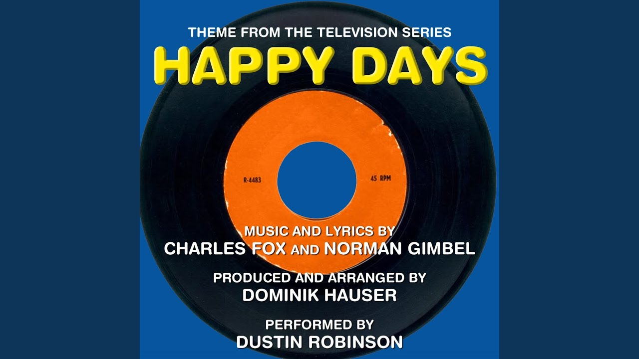 Happy Days - Theme Song - YouTube