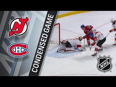 New Jersey Devils vs Montreal Canadiens – Apr. 01, 2018 | Game Highlights | NHL 2017/18. Обзор