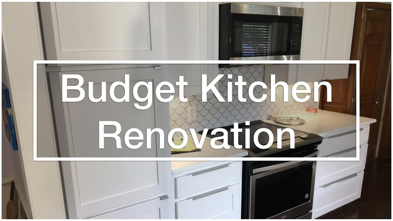 Budget Kitchen Renovation & Cabinet Refacing