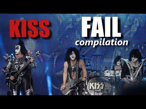 Kiss FAIL compilation | RockStar FAIL